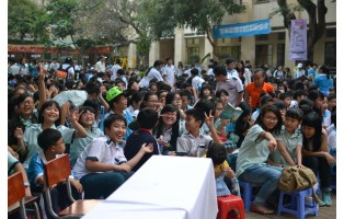 EVENT @ LY PHONG MIDDLE SCHOOL (1-2014)